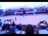 Пляжный футбол.Россия - Франция.Давай,до свиданья!